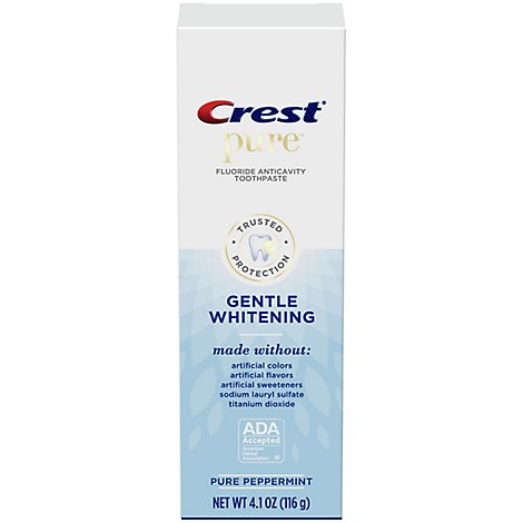 Crest Pure Gentle Whitening Toothpaste - 4.1 OZ