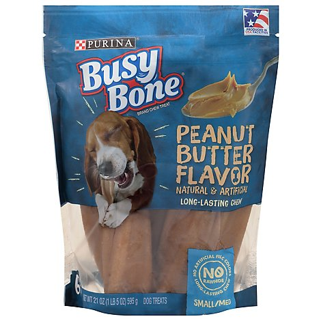 Purina Busy Bone Peanut Butter Small/med - 21 OZ