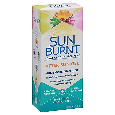 Sunburnt Advanced Gel After-sun - 6 OZ