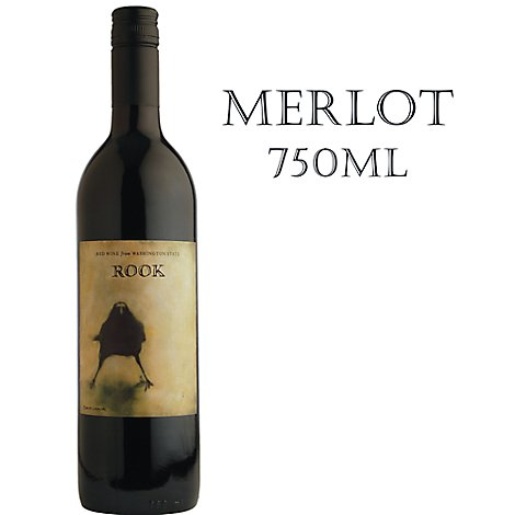 Rook Corvidae Co Merlot Wine - 750 ML