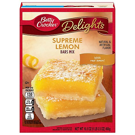 Bc Dessert Sunkist Lemon Bar - 16.5 OZ