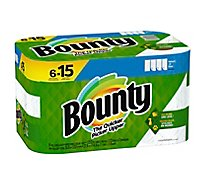 Bounty Paper Towel 2 Ply Select-a-size Roll White - 6 RL