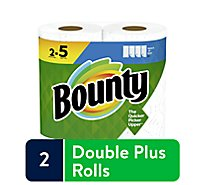 Bounty Paper Towel 2 Ply Select-a-size 2 Roll White - 2 RL