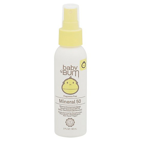 Baby Bum Spray Spf 50 - 3 OZ