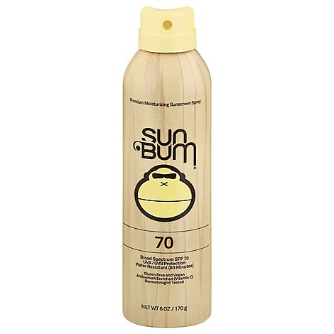 Sun Bum Original Spray Spf 70 - 6 OZ