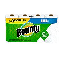 Bounty Paper Towel 2 Ply Select-a-size 4 Roll White - 4 RL