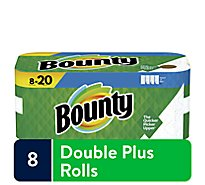 Bounty Paper Towel 2 Ply Select A Size 8 Roll White - 8 RL