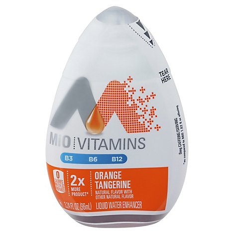 Mio Vitamins Orange Tangerine Liquid Water Enhancer - 3.24 FZ