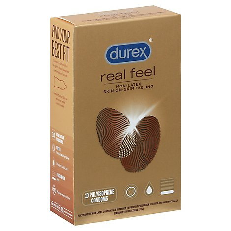 Durex Avanti Real Feel Condom - 10 CT