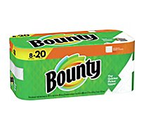 Bounty Paper Towel 2 Ply Regular 8 Roll White - 8 RL