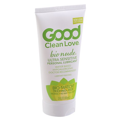 Good Clean Love Bionude Ultra Sensitive Personal Lubricant - 3 OZ