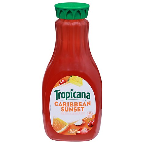 Tropicana Drink Caribbean Sunset Flavor - 52 OZ
