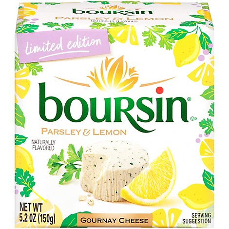 Boursin Parsley & Lemon Cheese - 5.2 OZ