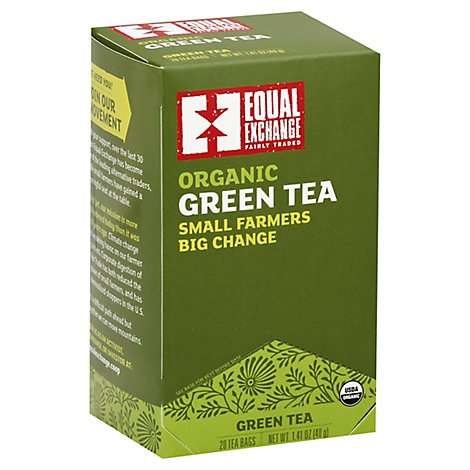 Equal Exchange Organic Green Tea - 1.41 OZ