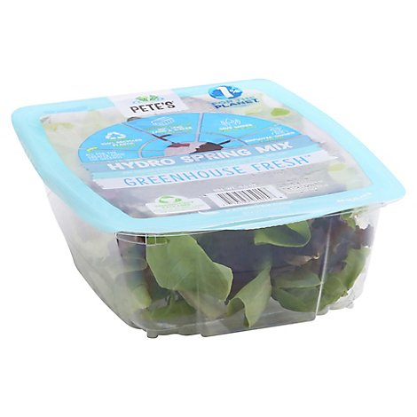 Petes Greenhouse Fresh Hydro Spring Mix - EA