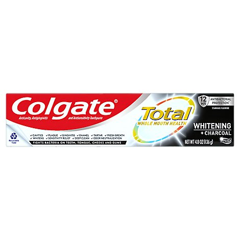 Colgate Total Charcoal Deep Clean Toothpaste - 4.8 OZ