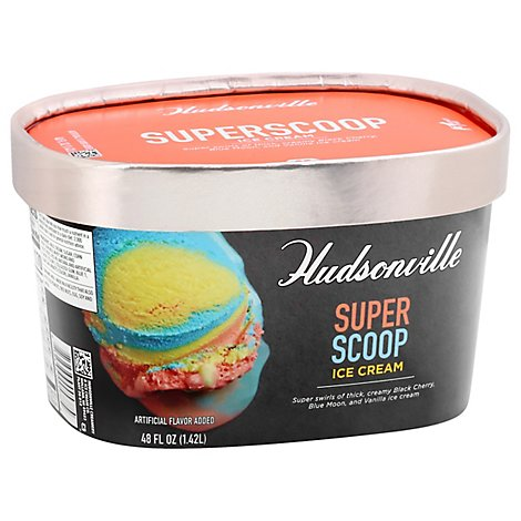 Hudsonville Superscoop - 48 OZ