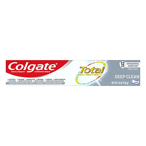 Colgate Total Advanced Deep Clean Toothpaste - 4.8 OZ