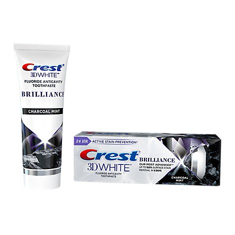 Crest 3d White Charcoal Toothpaste - 3.9 OZ