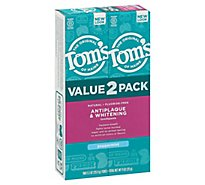 Toms Peppermint Whitening Toothpaste - 2-5.5 OZ