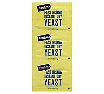 Signature Select Yeast Fast Rising Instant Dry - 3-.25 OZ