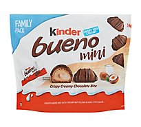 Kinder Bueno Minis Family Pack - 9.5 OZ