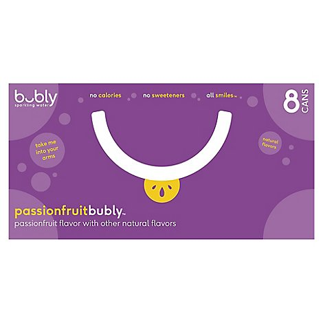 Bubly Sparkling Water Passionfruit - 8-12 FZ