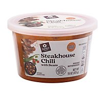 Signature Cafe Steakhouse Chili With Beans Soup - 15 OZ