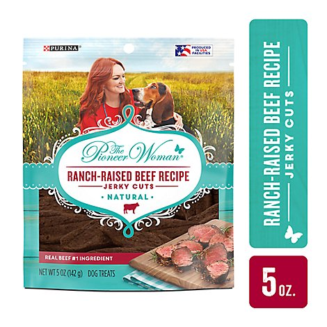 Purina The Pioneer Woman Dog Treats Jerky Cuts Beef - 5 Oz