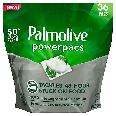 Palmolive Power Pacs Auto Dish Soap - 36 CT