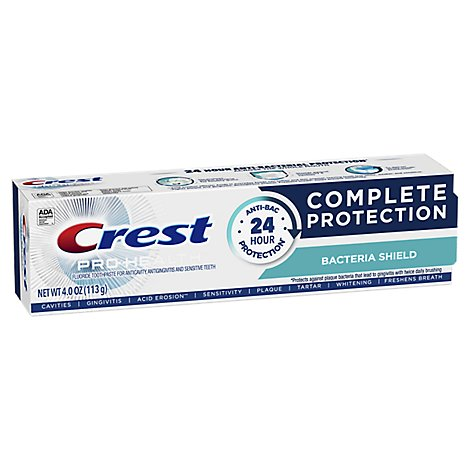 Crest Pro Health Bacteria Shield Toothpaste - 4 OZ