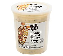 Signature Cafe Loaded Baked Potato With Bacon Soup - 32 OZ