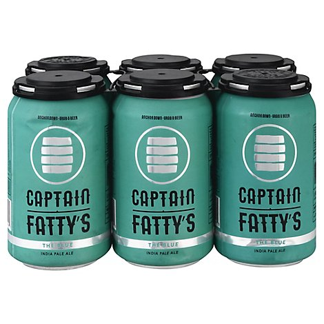 Captain Fattys The Blue Ipa In Cans - 6-12 FZ