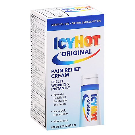 Icy Hot Pain Relief Cream Extra Strength - 1.25 OZ