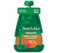 Beech-Nut Baby Food Stage 2 Apple Pumpkin & Cinnamon - 3.5 Oz