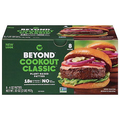Beyond Meat Plant-based Burgers - 2 LB