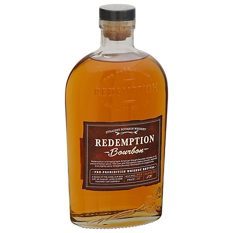 Redemption Bourbon Bottle - 750 ML