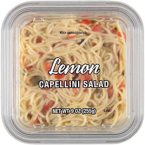 Lemon Capellini Salad - 9 OZ