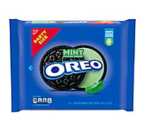 OREO Cookies Sandwich Mint Creme Chocolate Party Size - 26.7 Oz