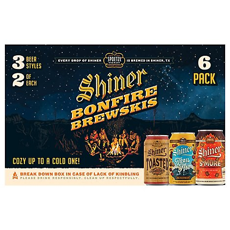 Shiner Tx Variety Heat Wave/cold Front In Cans - 6-12 FZ