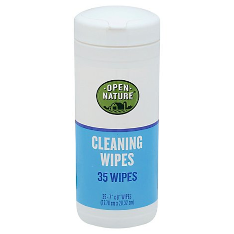 Open Nature Cleaning Wipes - 35 CT