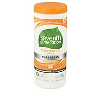 7th Generation Lemongrass Citrus Cleaner Wipes - 35 CT