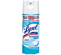 Lysol Crisp Linen Scent Spray Cleaner - 12.5 OZ