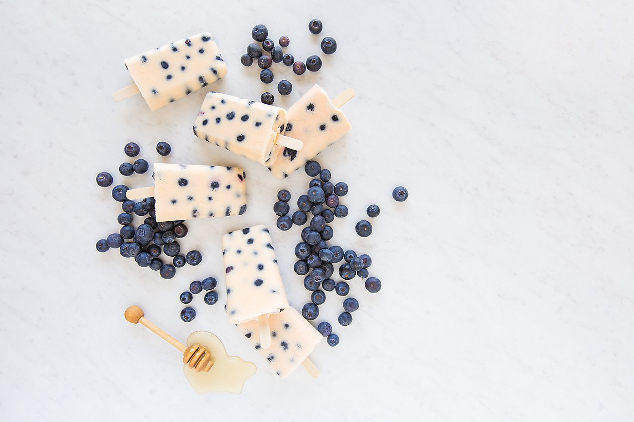 Blueberry Peach Pops