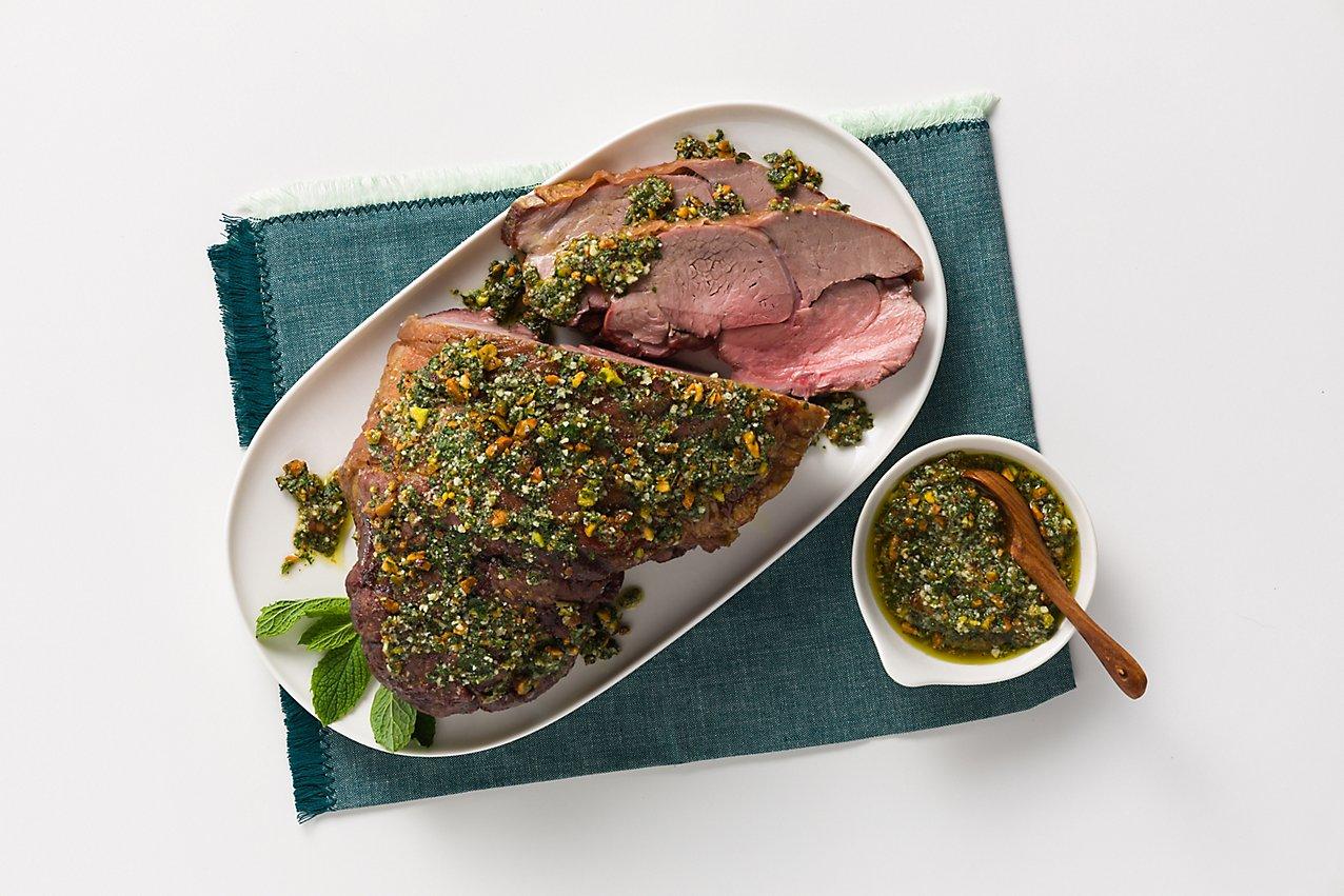 Grilled Lamb Leg