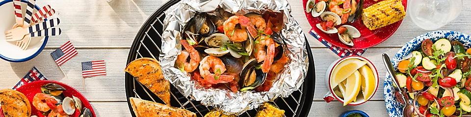 Summery Seafood