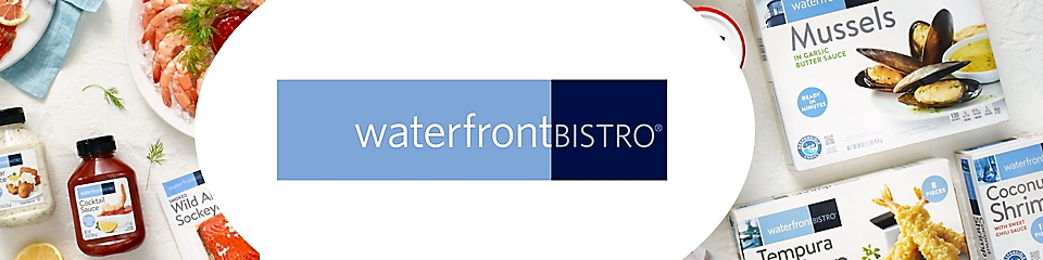 waterfrontBISTRO® seafood products