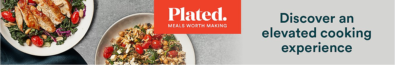 Plated - Discover an elevated cooking experience