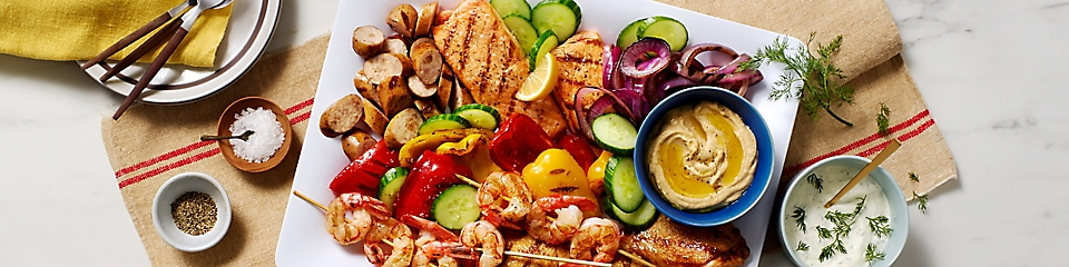 Summertime Mixed Grill