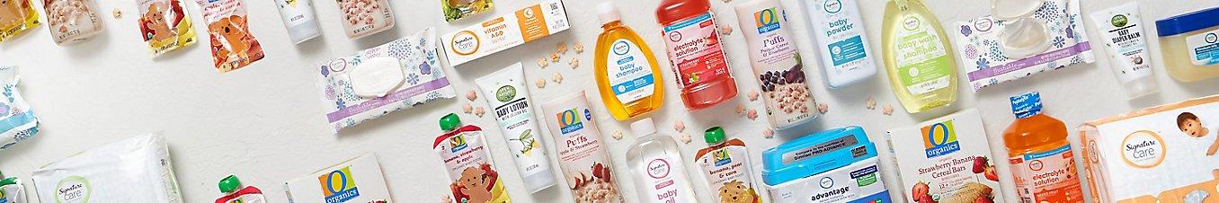 O Organics Baby Essentials Signature Care Products